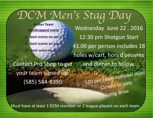 Mens Stag Day June